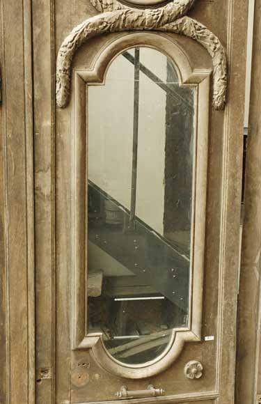 Porte monumentale deux vantaux d cor fantastique portes - Porte deux vantaux ...