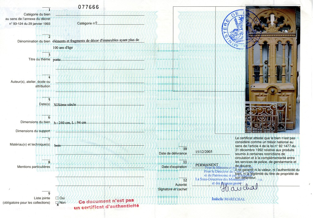 Porte d 39 entr e avec d cor en fen tre portes - Certificat d heredite avec porte fort ...