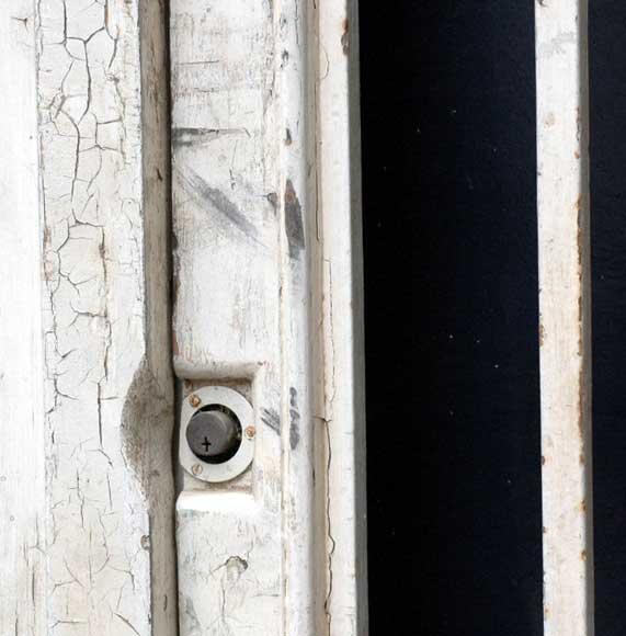 Grande porte d 39 entr e en bois et fer forg portes - Porte bois et fer forge ...