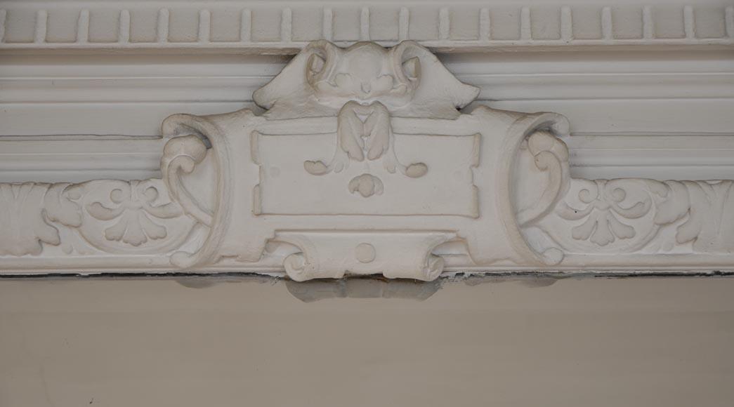 Trumeau Ancien De Style Louis Xiv D Cor De T Tes De