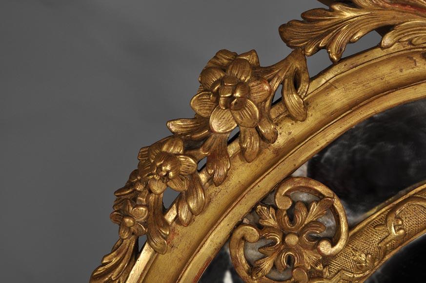 Beau Miroir Ancien De Style R Gence Poque Napol On Iii