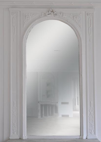 Architecture int rieure glaces miroirs et trumeaux for Miroir trumeau bois