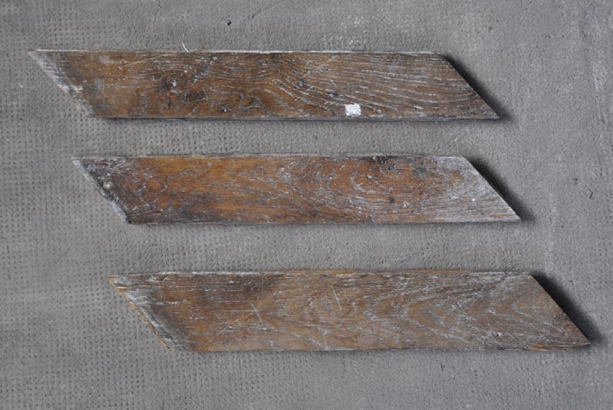 Parquet ancien en point de hongrie en ch ne parquets et sols for Poncage parquet chene ancien