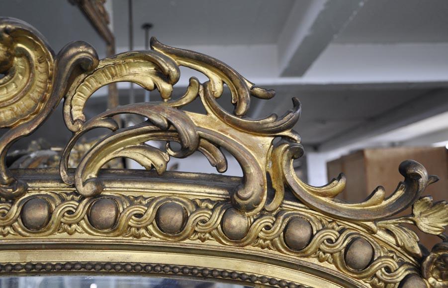 trumeau dor ancien napol on iii d 39 inspiration r gence glaces miroirs et trumeaux. Black Bedroom Furniture Sets. Home Design Ideas