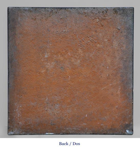Le soldat du second empire victorieux plaque de chemin e - Plaque de cheminee en fonte le bon coin ...