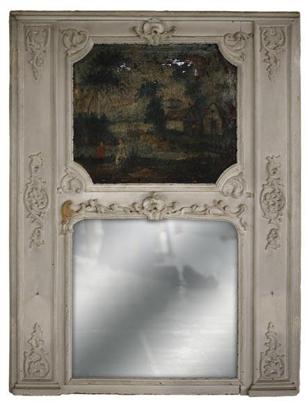 Architecture int rieure glaces miroirs et trumeaux for Miroir trumeau ancien