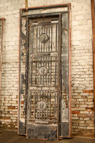 poillerat gilbert paire de portes et garde corps art d co en fer forg et bronze 1936 portes