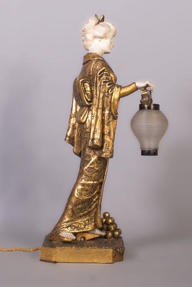 Chevet Vquzmpsg Japonisanteen 1930lampe De Alonzoactif Dominique 1910 shdrtCQ