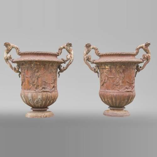 Architecture Extérieure - Ornements de jardin, vases, jardinières