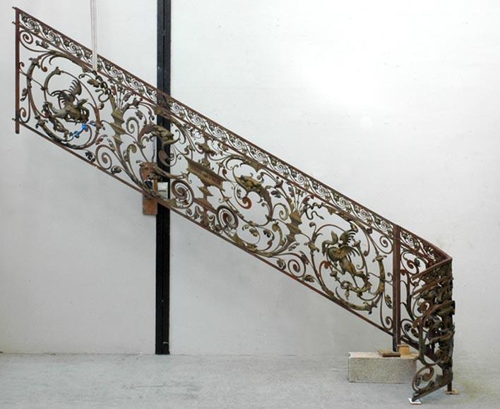 architecture int rieure escaliers et rampes. Black Bedroom Furniture Sets. Home Design Ideas