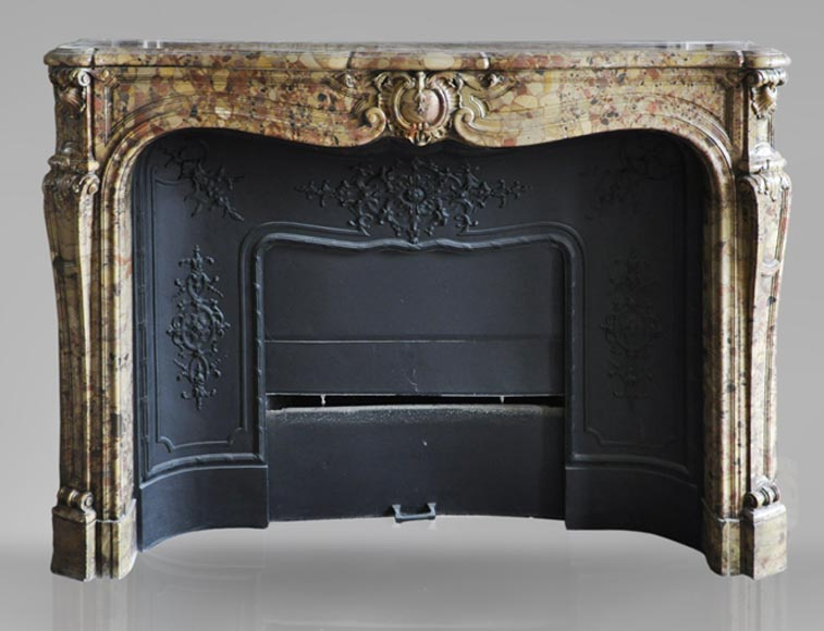 chemin es anciennes marbre. Black Bedroom Furniture Sets. Home Design Ideas