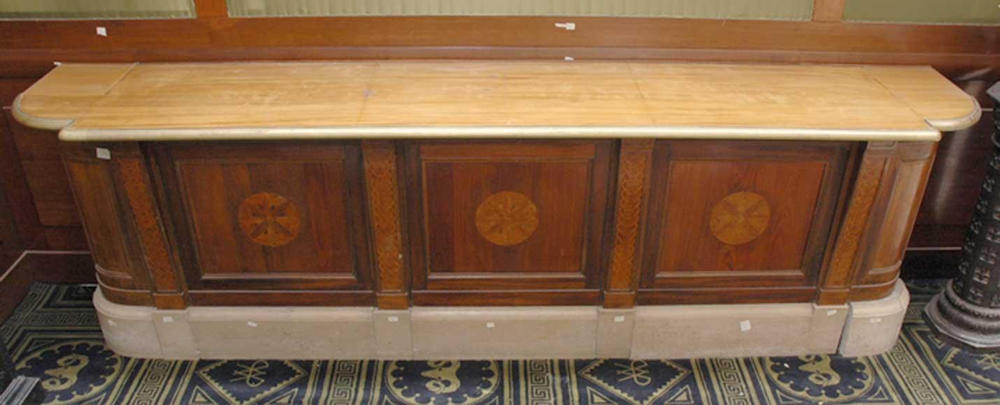 Ancien Comptoir De Banque Meubles Et Accessoires