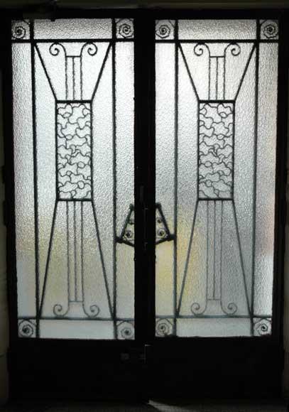 Porte d 39 entr e art deco portes - Porte art deco ...