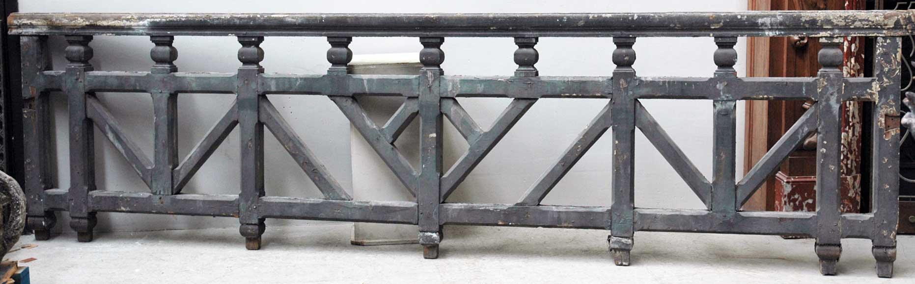 rambarde de bois escaliers et rampes. Black Bedroom Furniture Sets. Home Design Ideas