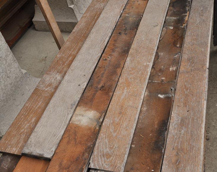plancher lin aire en bois de ch ne du xix si cle parquets et sols. Black Bedroom Furniture Sets. Home Design Ideas