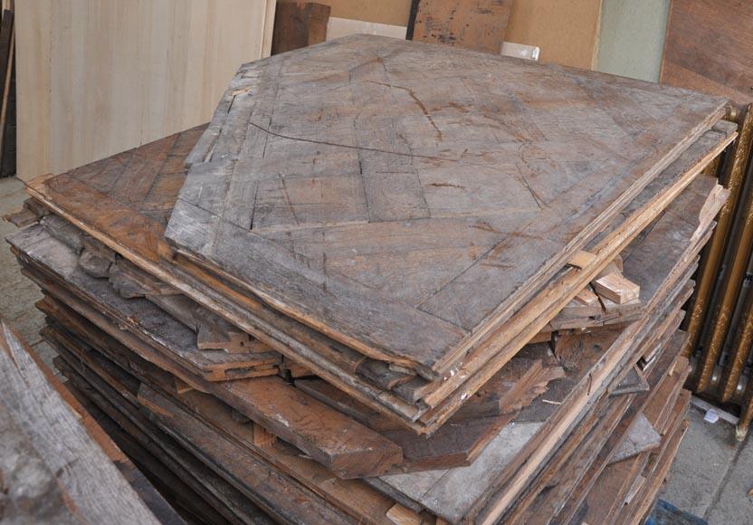 parquet de versailles ancien en ch ne du xviii si cle parquets et sols. Black Bedroom Furniture Sets. Home Design Ideas